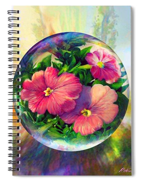 Flowering Panopticon Spiral Notebook