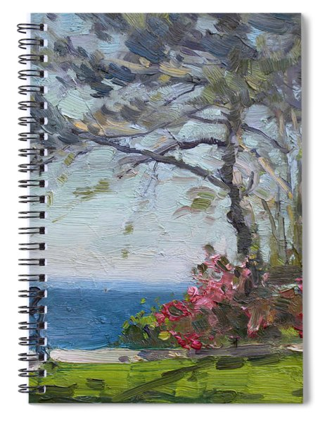 Flowers By Lake Ontario Spiral Notebook