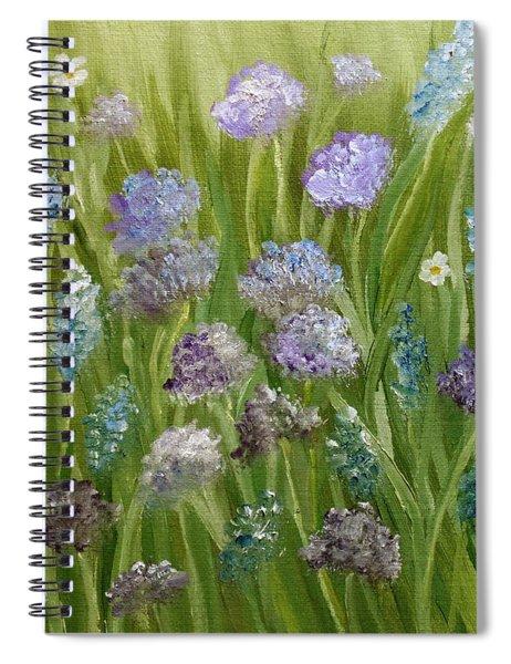 Flowers Field Spiral Notebook