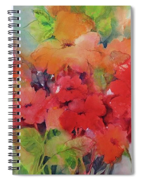 Flowers For Peggy Spiral Notebook