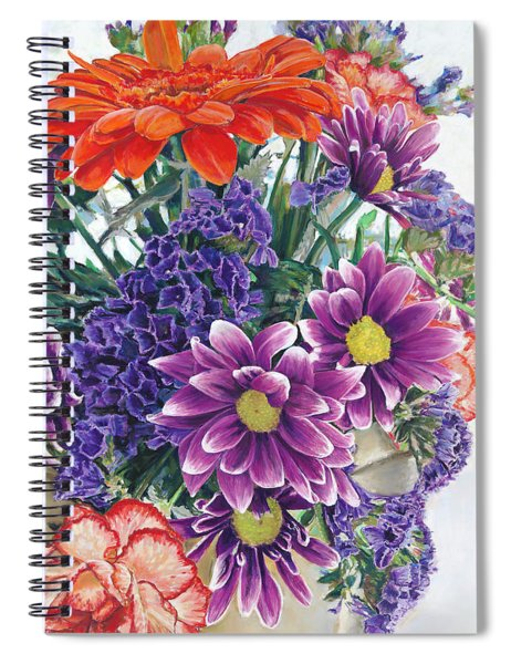 Flowers From Daughter Spiral Notebook
