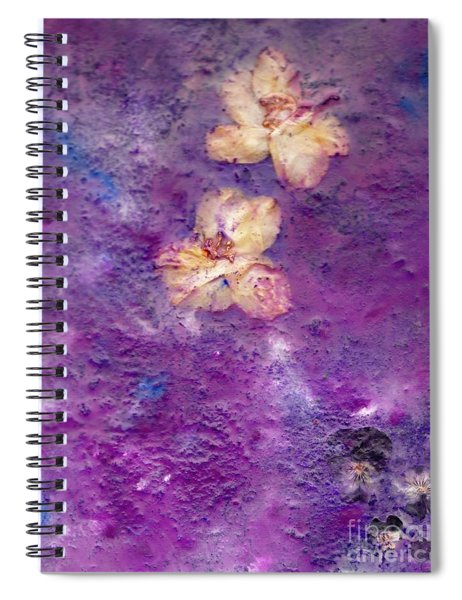 Flowers From The Garden Spiral Notebook