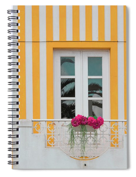 Flowers In The Window Spiral Notebook
