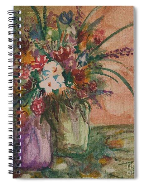 Flowers In Vases 2 Spiral Notebook