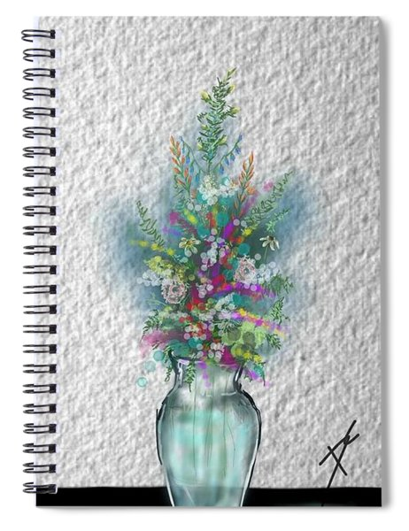 Flowers Study Two Spiral Notebook