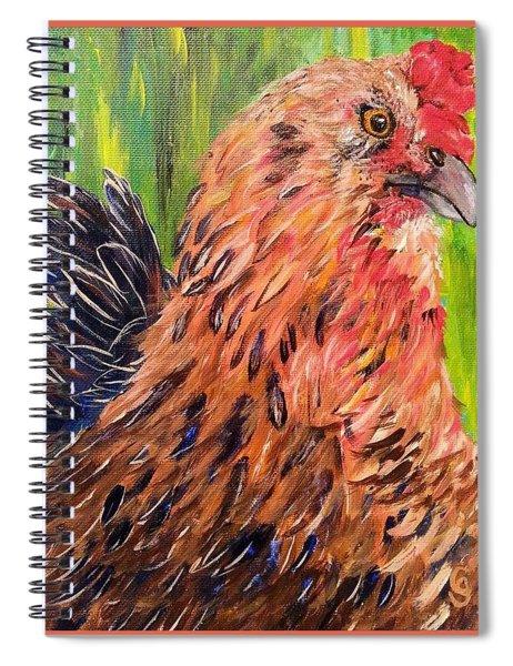 Flowie Spiral Notebook
