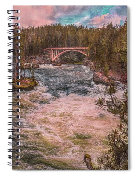 Flowing Free Spiral Notebook