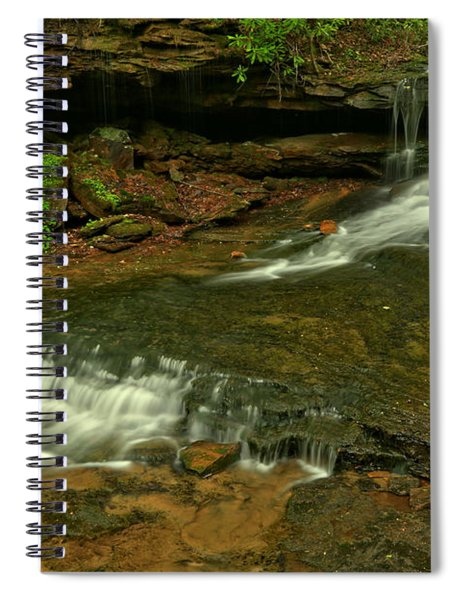 Flowing Through The Forbes State Forest Spiral Notebook