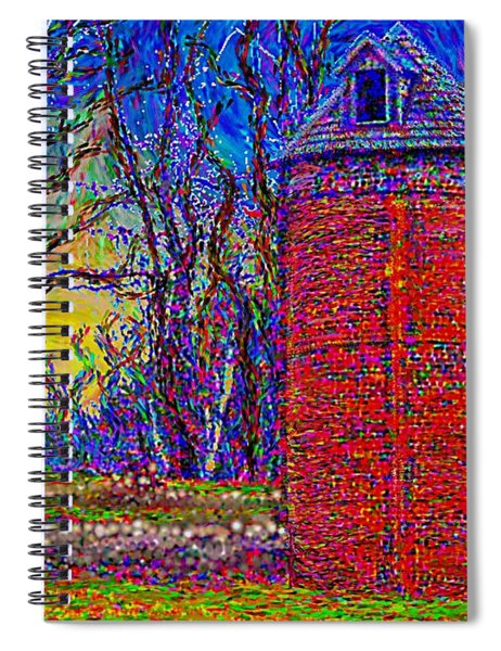 Floyd,virginia Tower Spiral Notebook