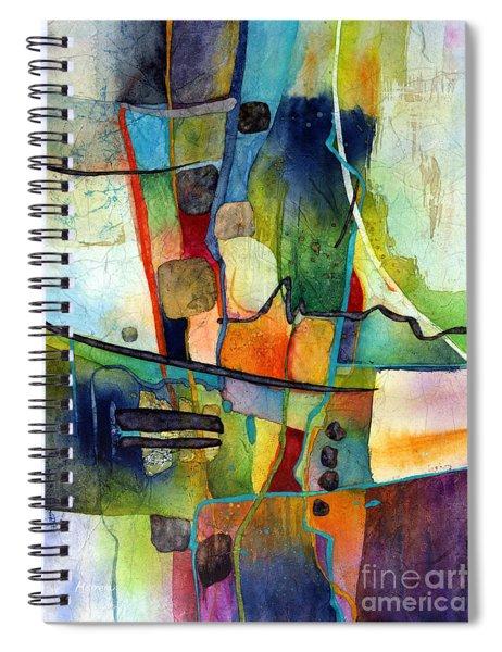 Fluvial  Mosaic Spiral Notebook