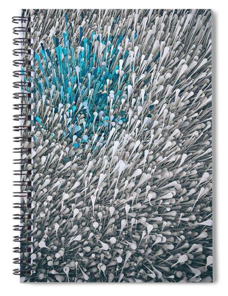 Flux Number 1 Spiral Notebook