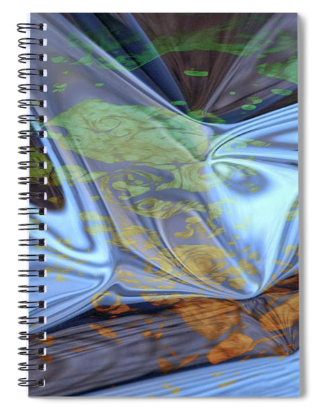 Fly By Night Spiral Notebook