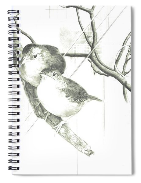 Fly Spiral Notebook