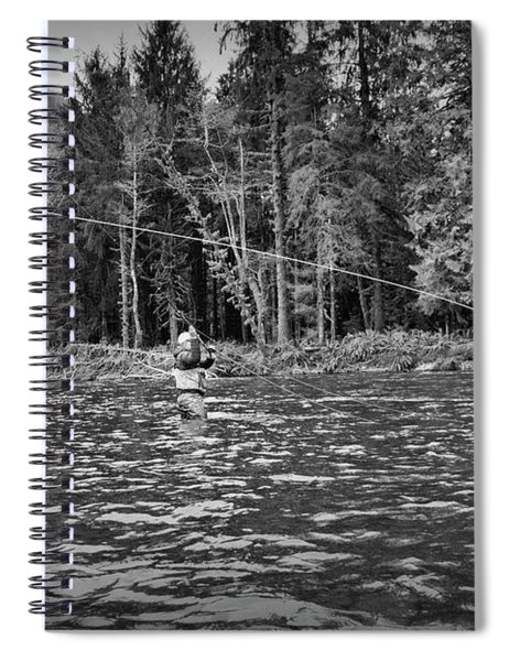 Fly On The Swing Spiral Notebook