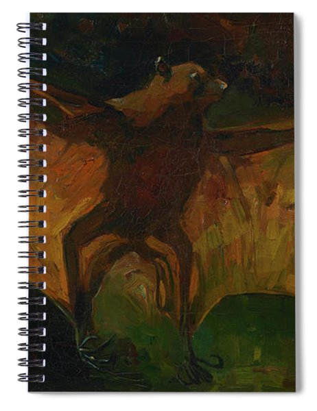 Flying Fox Spiral Notebook