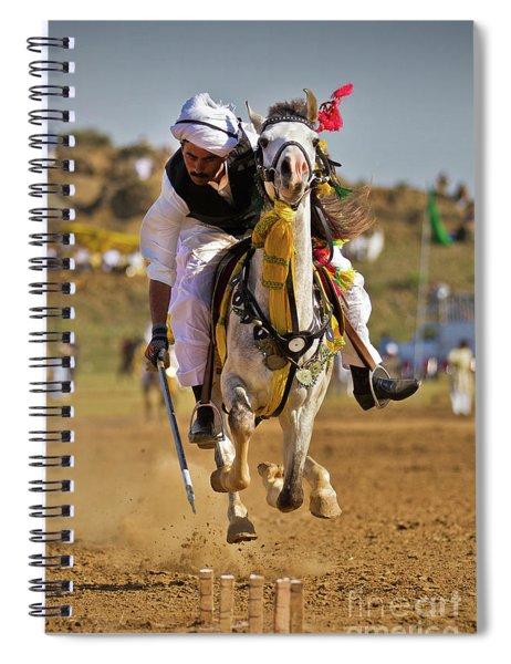 Flying Horse Spiral Notebook