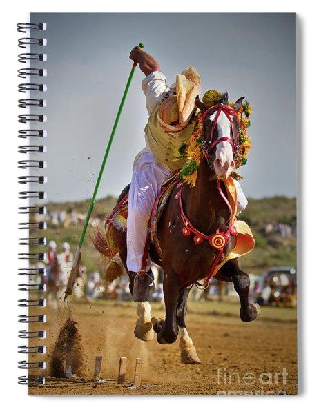 Flying Horse II Spiral Notebook