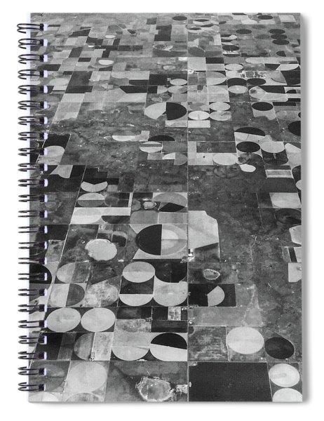 Flying Over - Art By Linda Woods Spiral Notebook