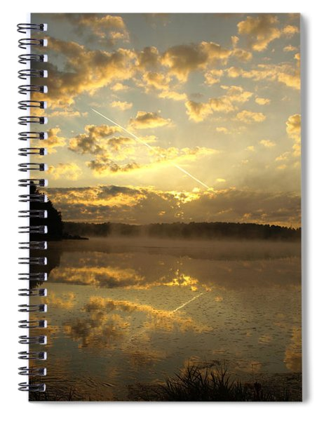 Flying Reflections Spiral Notebook