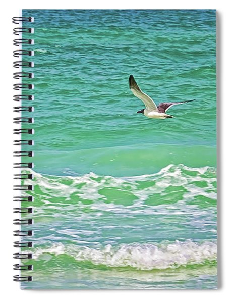 Flying Solo Spiral Notebook