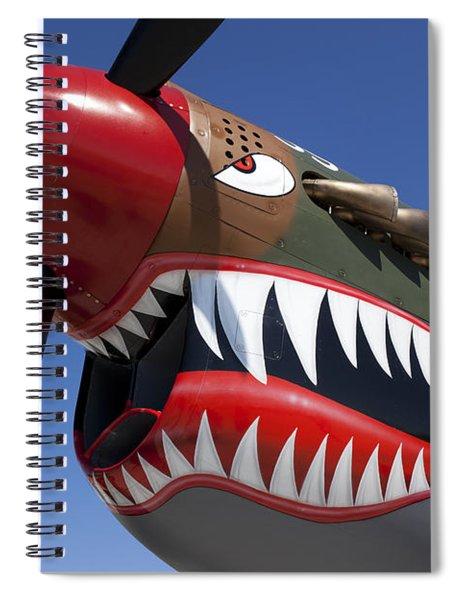 Flying Tiger Plane Spiral Notebook