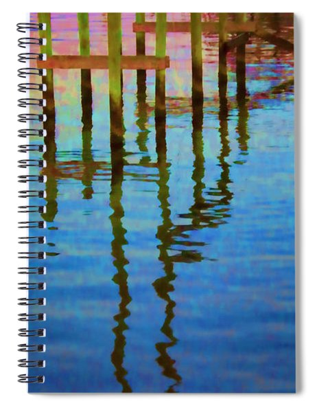 Focus On The Water Spiral Notebook