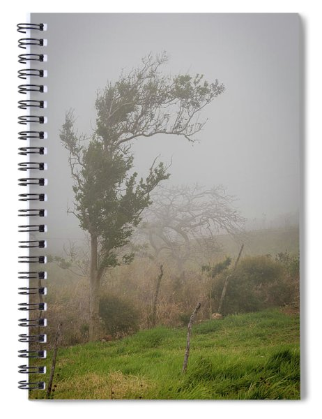 Fog And Wind Spiral Notebook
