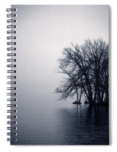 Fog Day Afternoon Spiral Notebook