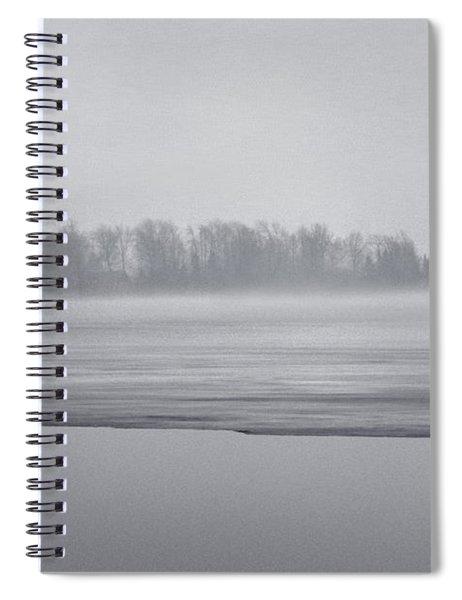 Fog Light Spiral Notebook