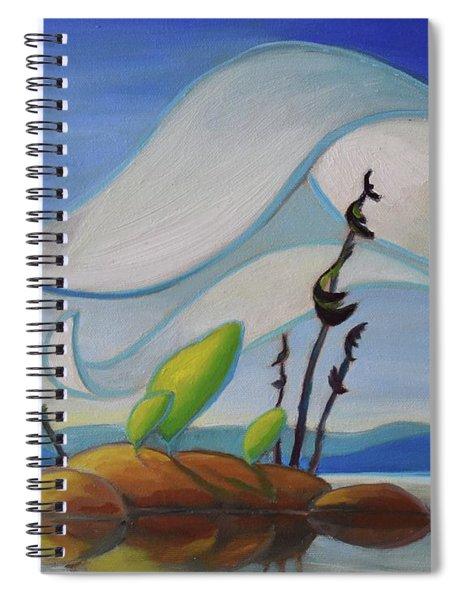 Fog Rising Spiral Notebook