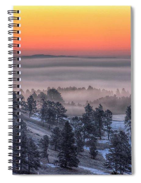 Foggy Dawn Spiral Notebook