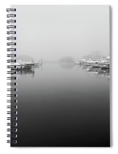 Foggy Day Banagher Spiral Notebook