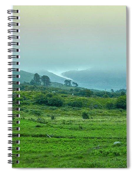 Foggy Day #g0 Spiral Notebook