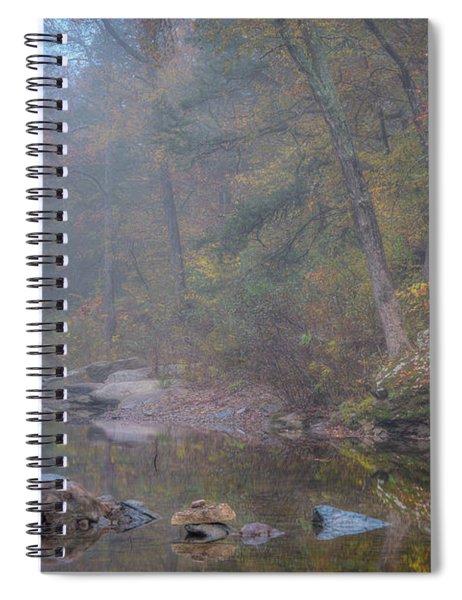 Foggy Fall Spiral Notebook