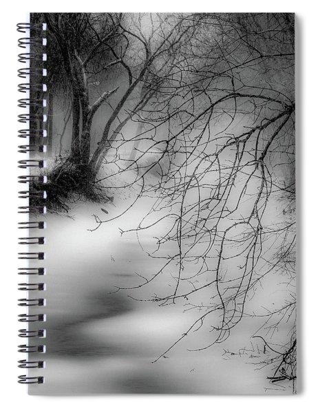 Foggy Feeder Spiral Notebook