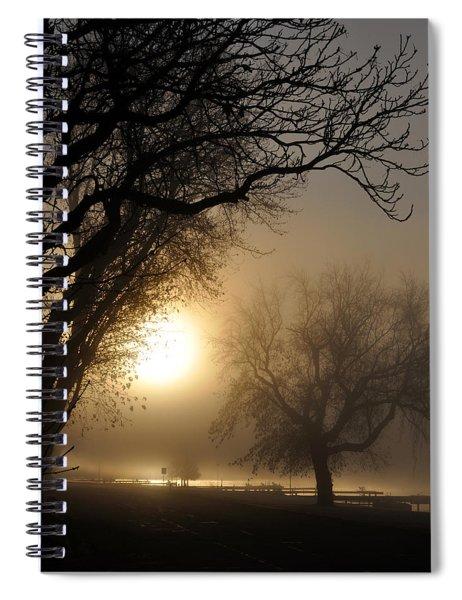 Foggy Morn Spiral Notebook