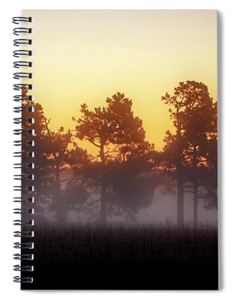 Foggy Ozark Morning  Spiral Notebook