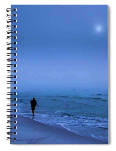 Foggy  Spiral Notebook