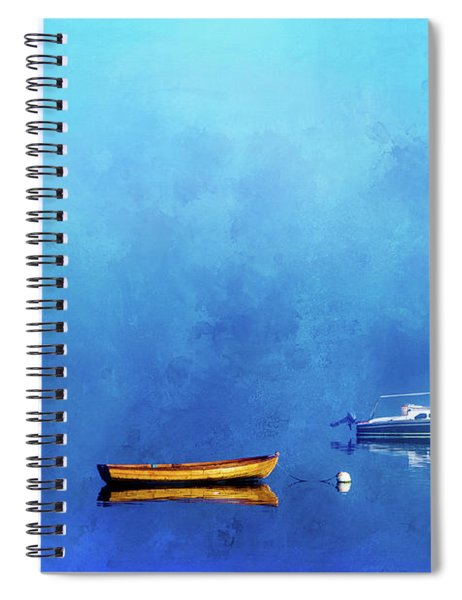 Upon The Still Waters Spiral Notebook