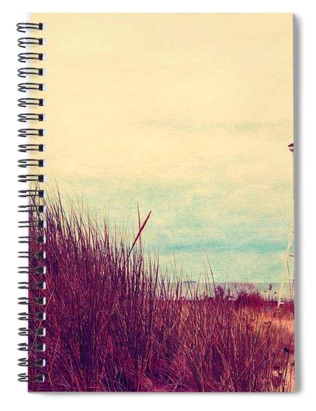 Foghorn At Big Sable Point Spiral Notebook