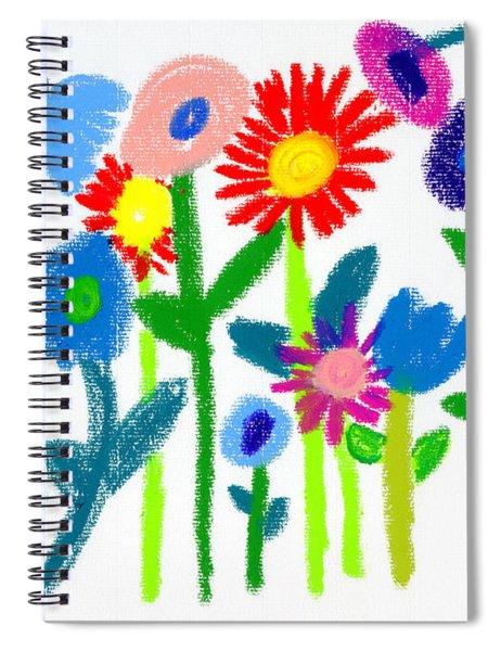 Folk Garden Spiral Notebook