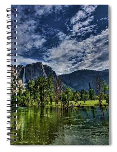 Follow The River Spiral Notebook