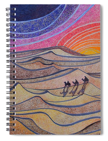 Follow The Star   Spiral Notebook