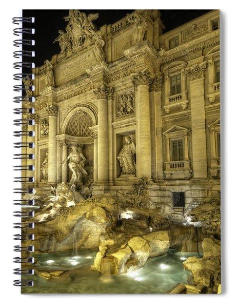 Fontana Di Trevi 1.0 Spiral Notebook