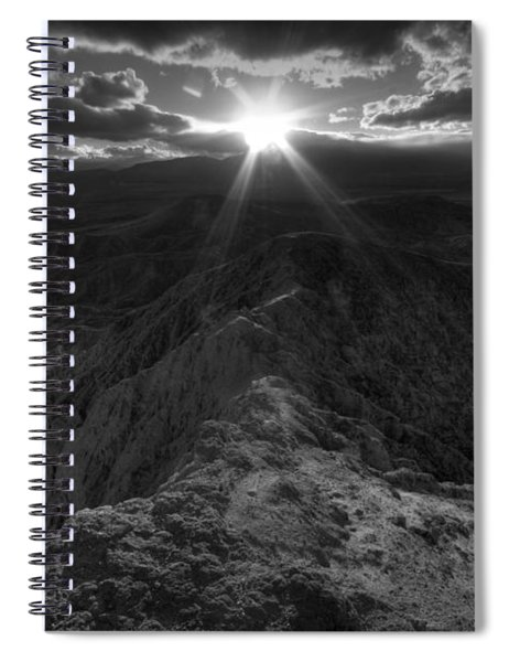 Font's Point Sunset Spiral Notebook