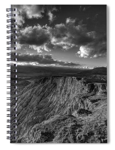 Font's Point Sunset View Spiral Notebook