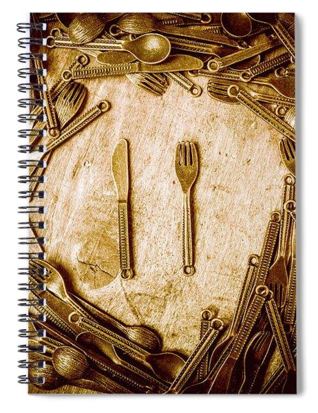 Foodies Circle Spiral Notebook