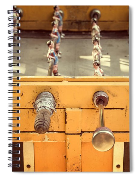 Foosball Table Spiral Notebook