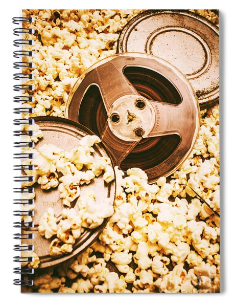 Footage From An Antique Motion Picture Spiral Notebook