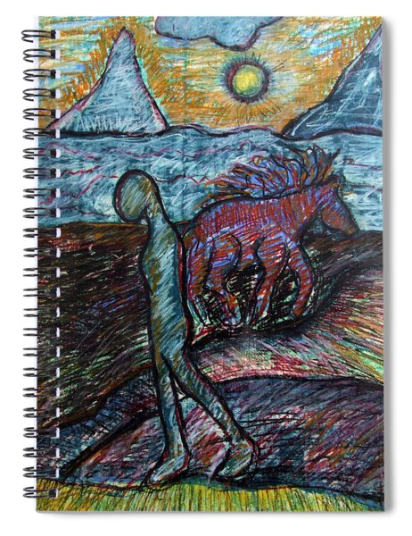Foothills Spiral Notebook